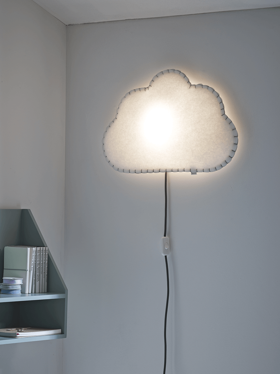 cox cox soft wall light cloud never knowingly concise. Black Bedroom Furniture Sets. Home Design Ideas