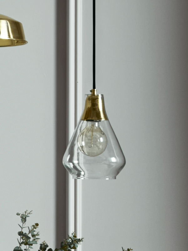 cox cox glass brass pendant light never knowingly. Black Bedroom Furniture Sets. Home Design Ideas
