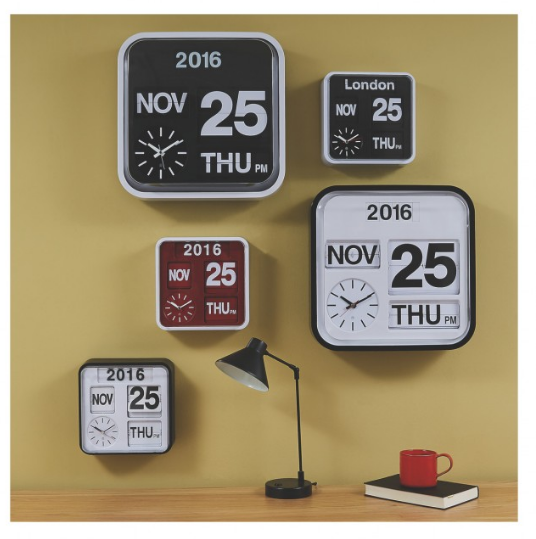 Habitat Classic Analogue Wall Clock Never Knowingly