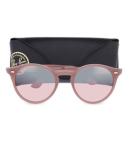 3c993c95ec RAY-BAN    RB2180 Round Phantos Sunglasses – Antique Pink – Never ...