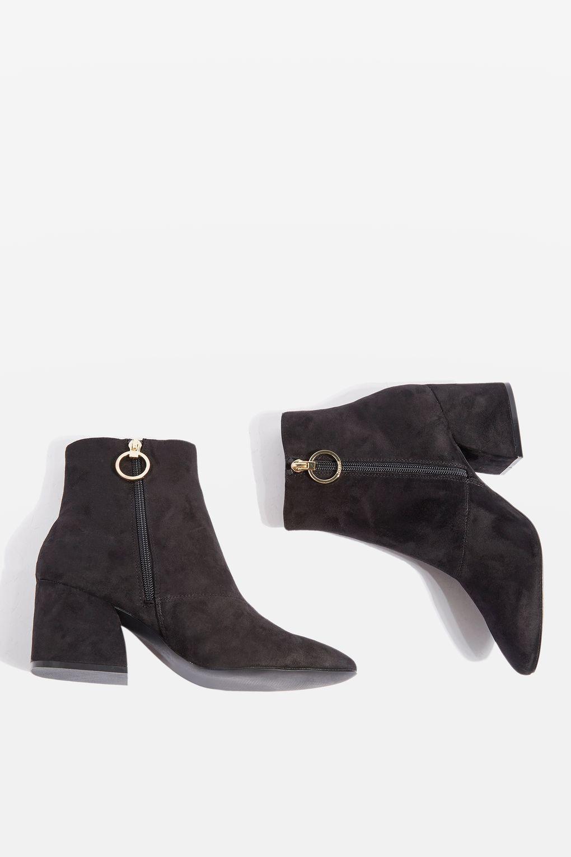 TOPSHOP // BROOKE Ankle Boot – Black
