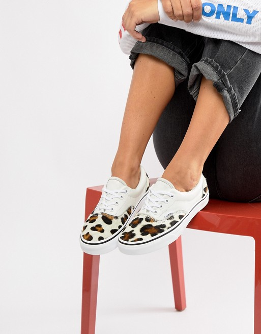 3b3cc8343ea VANS    Classic Old Skool Trainers – Leopard – Never Knowingly Concise
