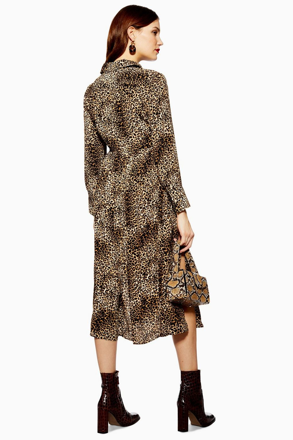 47b41e872697a TOPSHOP MATERNITY // Animal Print Midi Shirt Dress – Never Knowingly ...